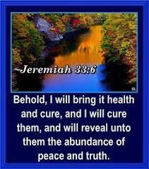 Jeremiah 33:6: Chaiway